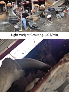 Foto Story Light Weight Grouting PM5